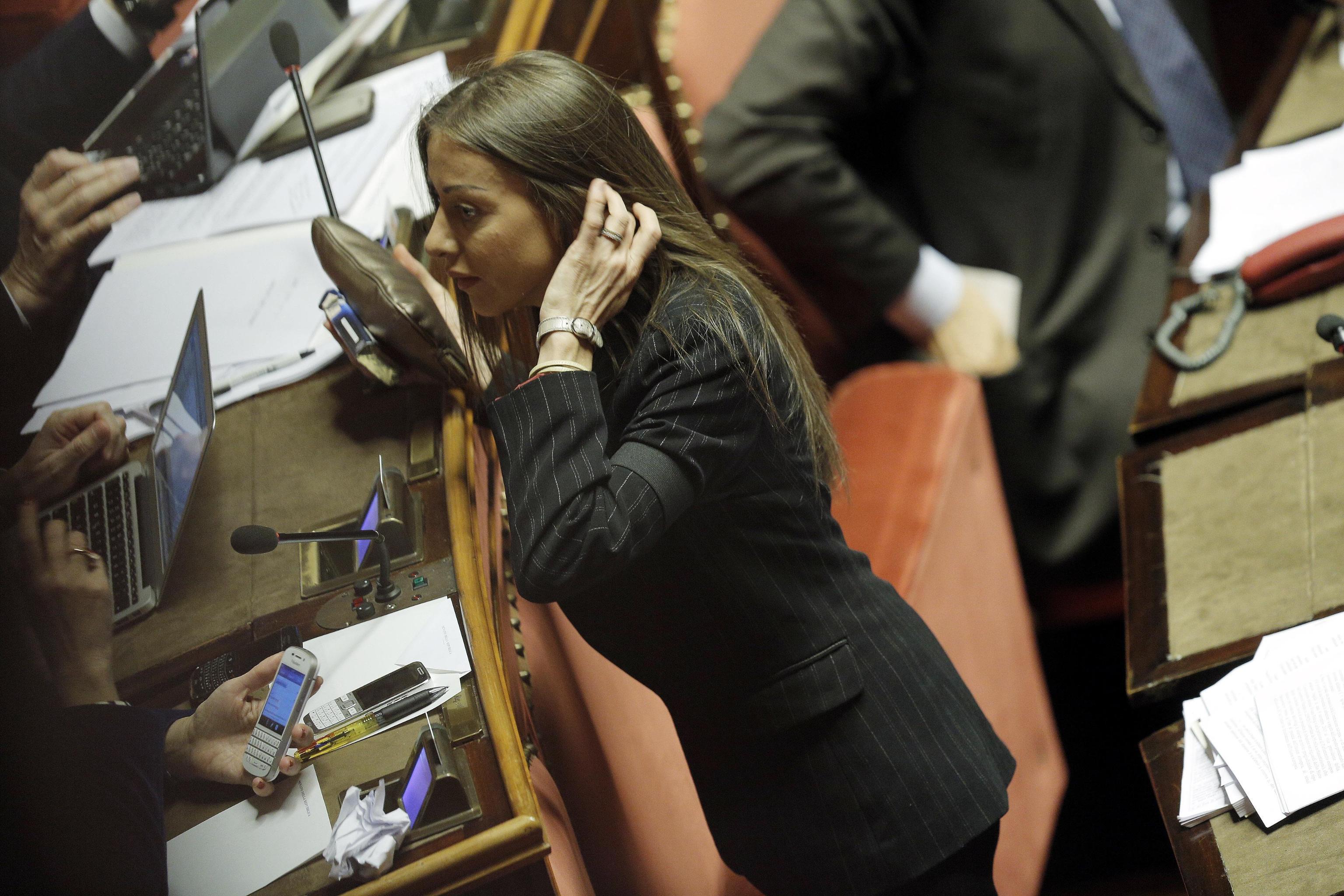 Destituito bondi mariarosaria rossi nuovo amministratore for Donne parlamento italiano