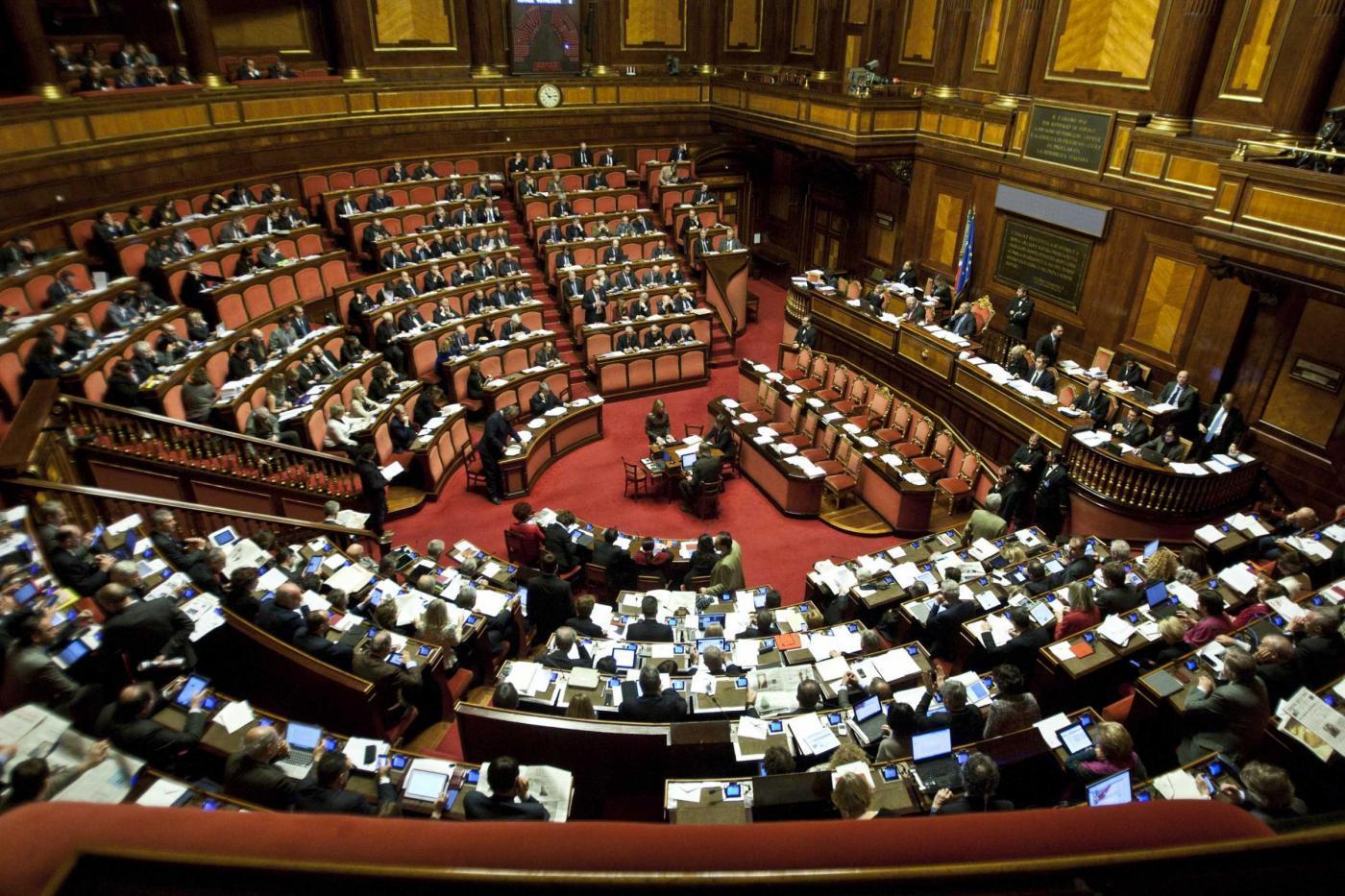 Finanziamento ai partiti presentato al senato il dl for Roma parlamento