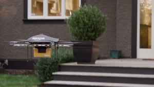 Droni Per Le Consegne Il Video Di Amazon Video Rai News