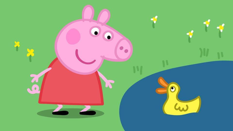 Peppa pig batte belen e lei la più desiderata del web