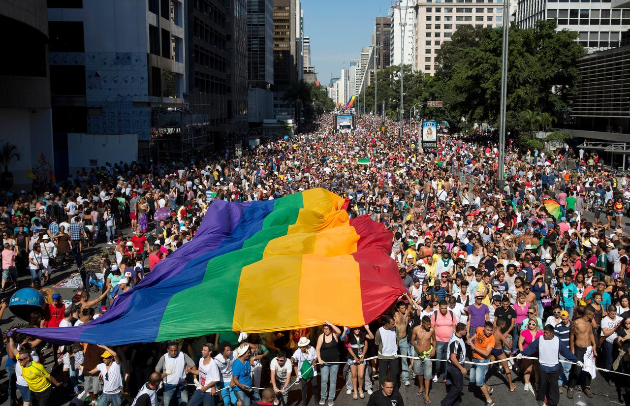 from Quinton gay pride brazil