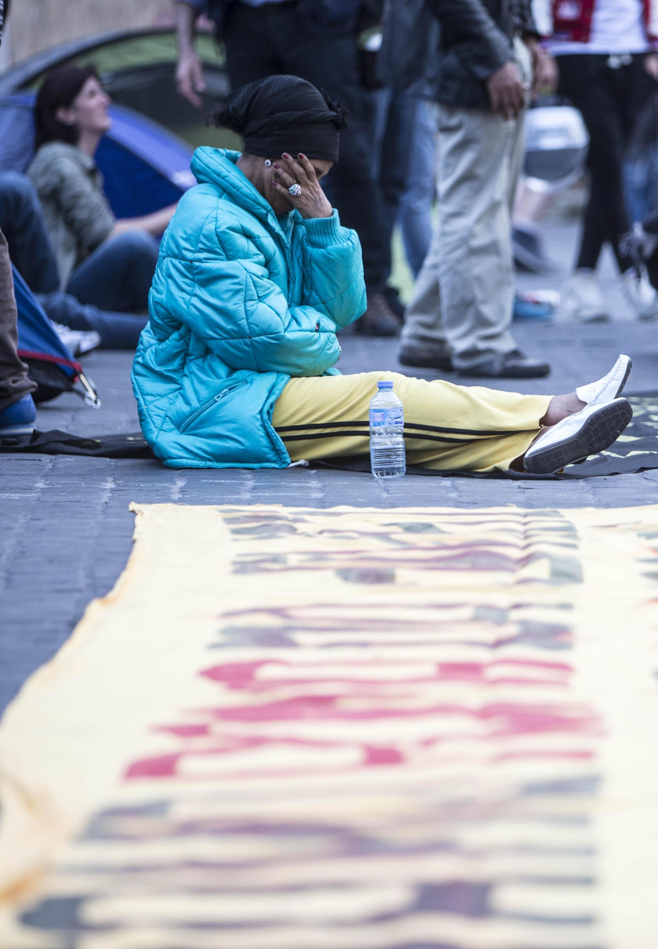 Roma piano casa la protesta in piazza photogallery for Piani casa dei caraibi
