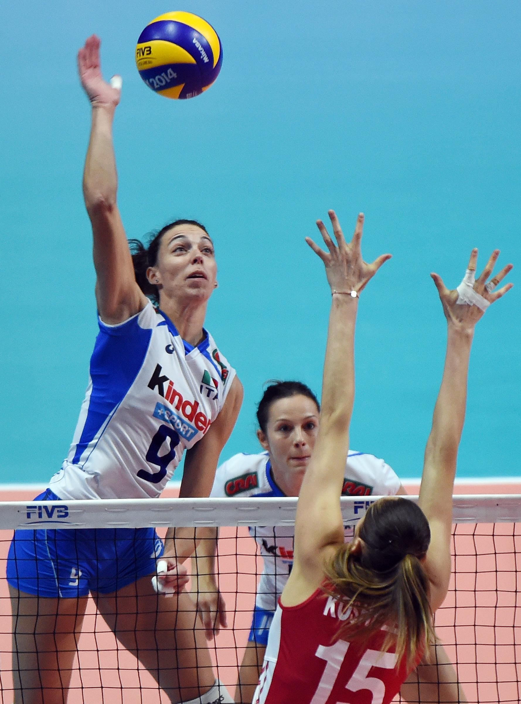italia russia volley femminile oggi - photo #9