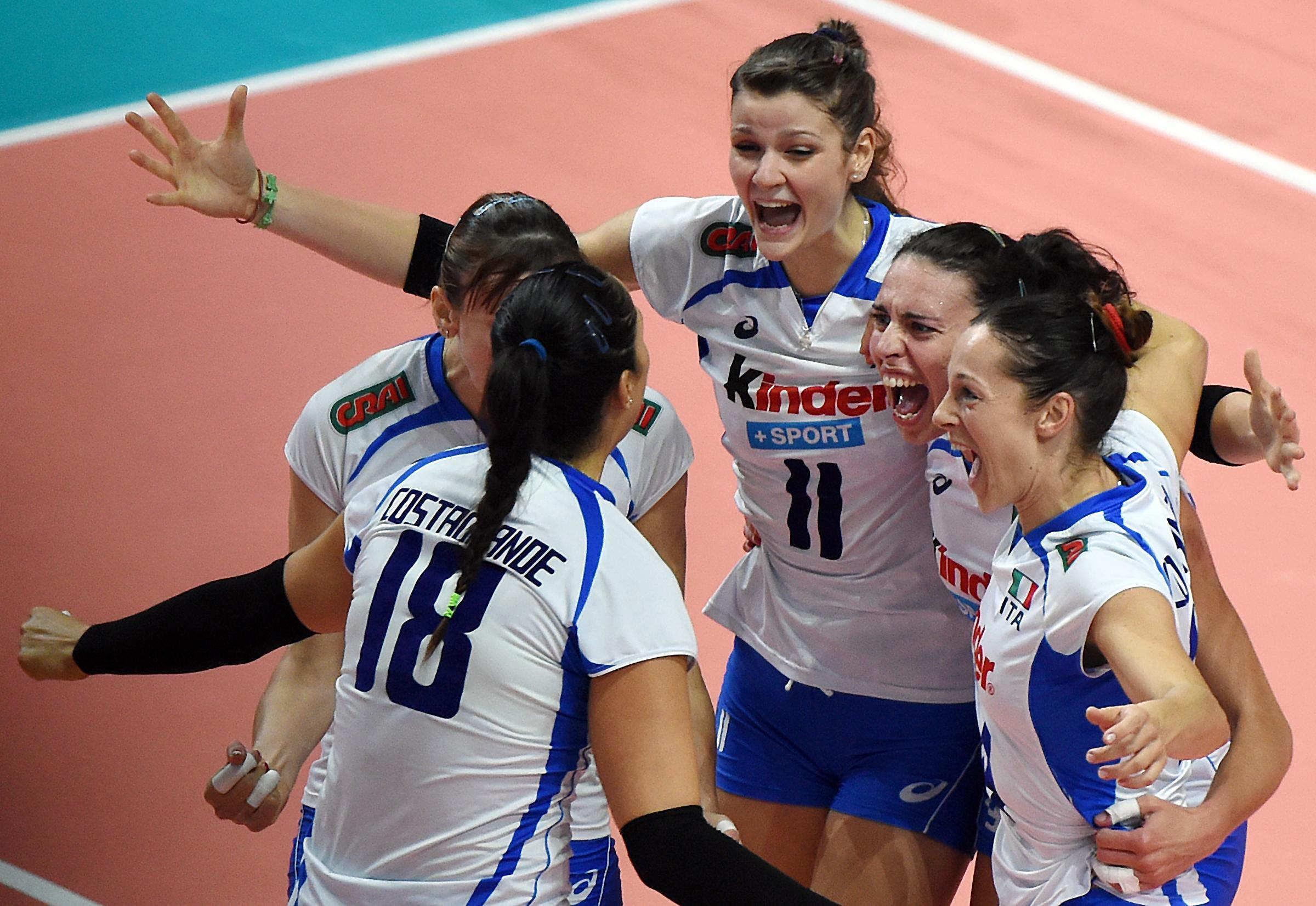 italia russia volley femminile oggi - photo #5
