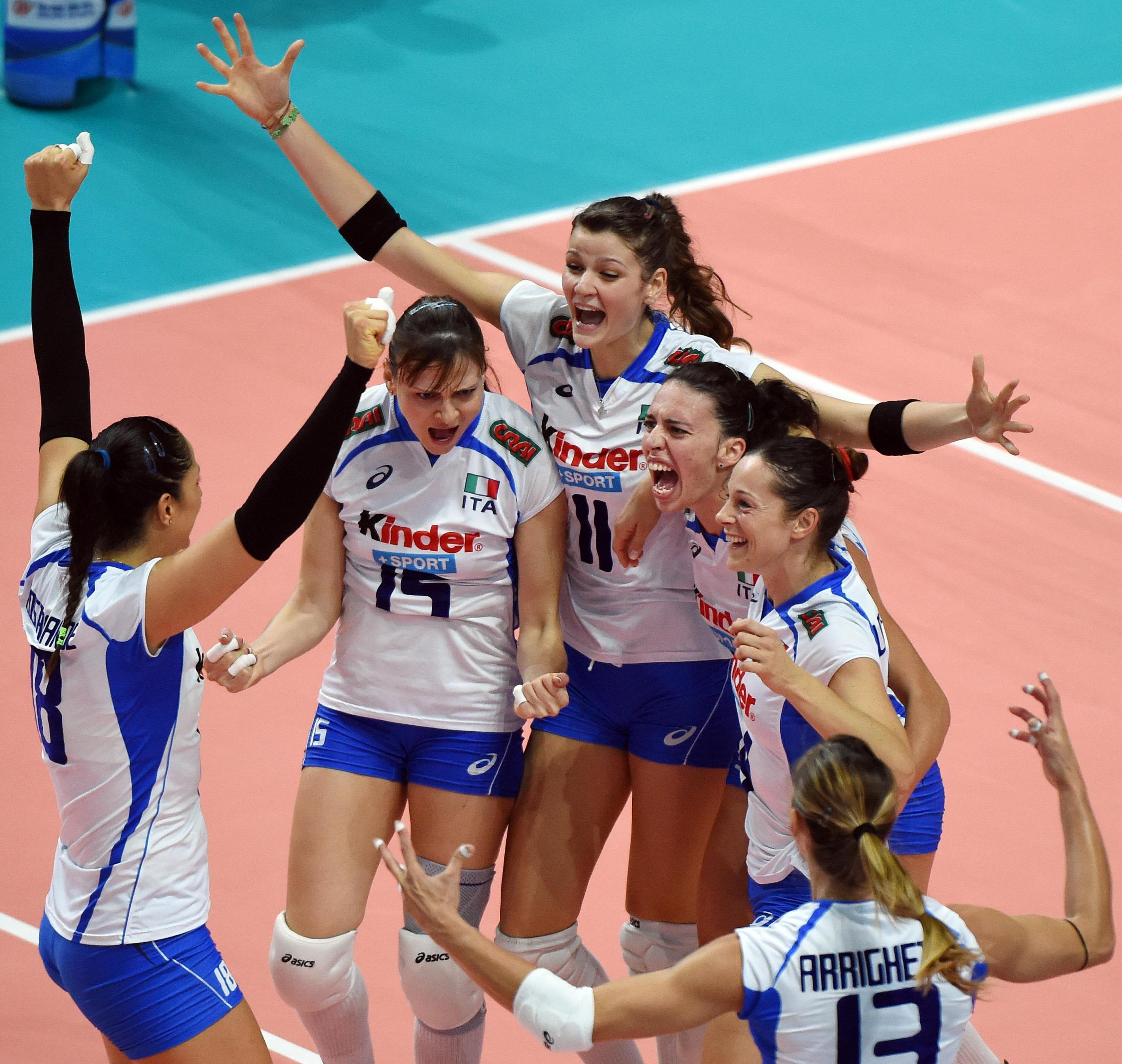 italia russia volley femminile oggi - photo #4
