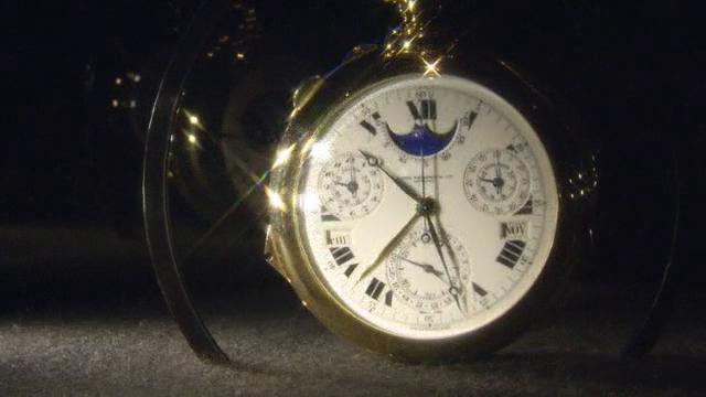 Asta record: 21 milioni per l'orologio da taschino più complicato del mondo