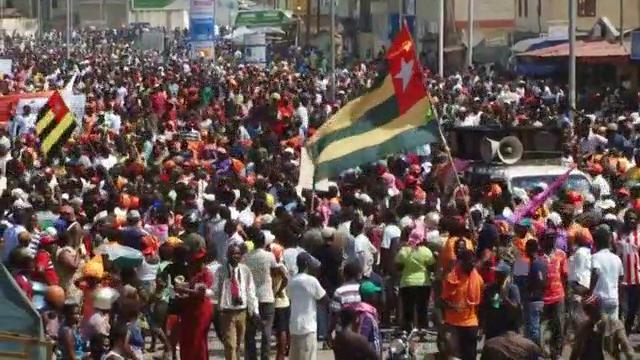 Risultati immagini per disordini in Togo