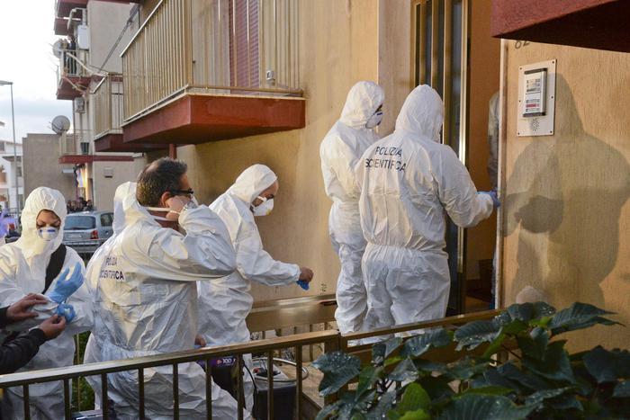 Omicidio loris i rilievi della scientifica nella casa dei for Aiuto nella progettazione della casa