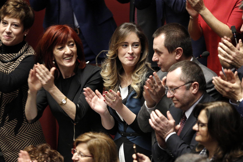 Mattarella ricompatta il pd ecco le foto dell 39 esultanza for Elenco parlamentari pd
