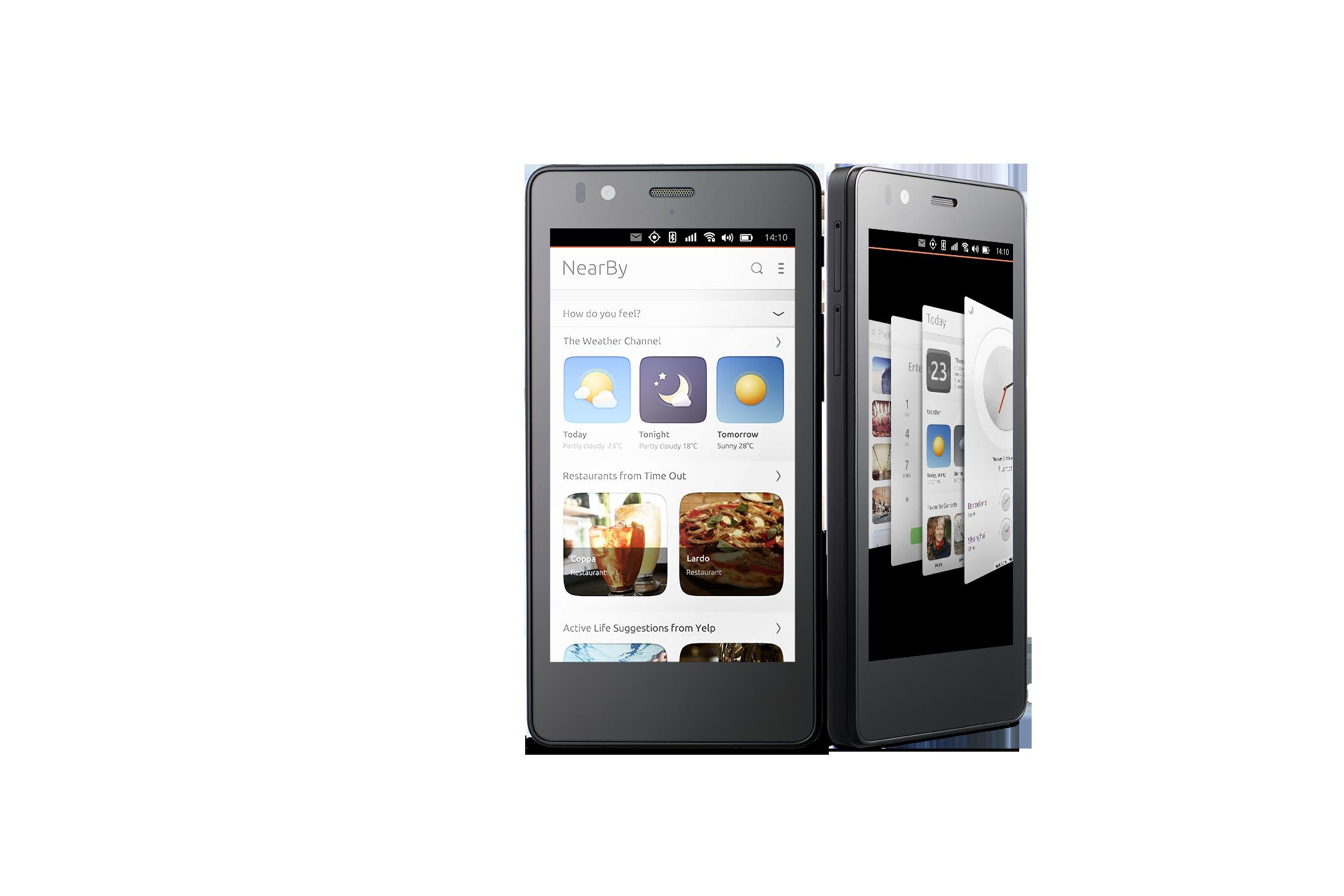Il primo smartphone con Linux Ubuntu - Photogallery