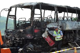 Cina incendio ad autobus nello hunan almeno 35 i morti for 777 hunan cuisine